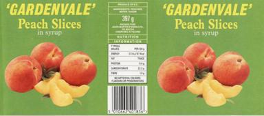 Etichetta per la frutta in barattolo