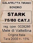 etichetta per cassette