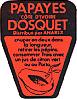 Etichetta Dosquet